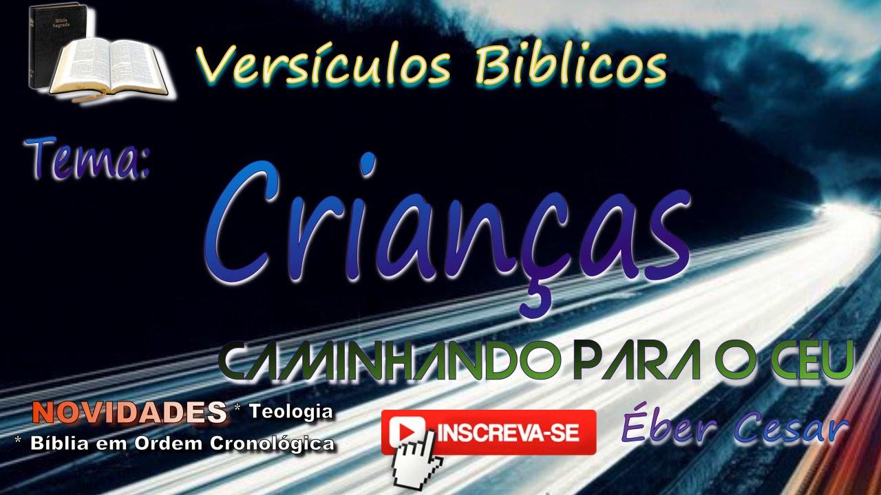 Versículo Bíblico De Proteção: Versículos Bíblicos Sobre Crianças (Bíblia Em Áudio