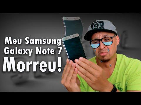 Meu Galaxy Note 7 morreu!  O que esta acontecendo com a Samsung?