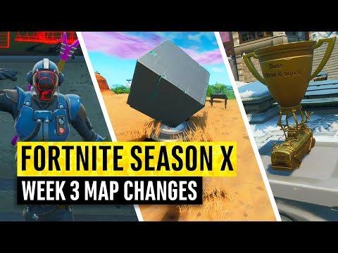 Fortnite | All Season X Map Updates And Hidden Secrets! WEEK 3