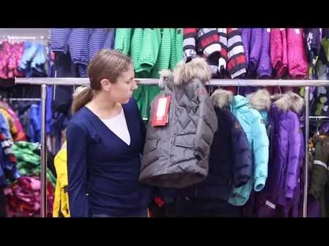 видео: reima, Пуховик hoppu арт. 511183