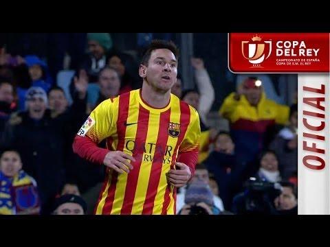 Resumen de Getafe CF (0-2) FC Barcelona - HD Copa del Rey