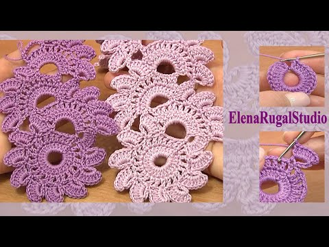 Lacy Crochet Stitches Youtube : ... Floral Lace Tutorial 12 Beautiful Crochet Lace Patterns - YouTube