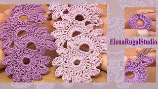 Crochet Floral Lace Tutorial 12 Beautiful Crochet Lace Patterns