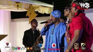 Diamond Platnumz & Q Chillah & Rayvanny & Harmonize perfoming live at Madale