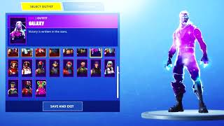 EPIC GAMES GIFTED ME THE GALAXY SKIN EARLY IN FORTNITE BATTLE ROYALE...