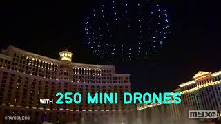 MYX TECH  - Intel's Shooting Star Drones in Las Vegas during CES