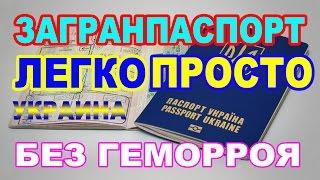 Как оформить загранпаспорт в Украине 2017?