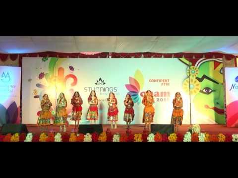 Dhum Dhum Dhum Dooreyetho... Group Dance - Confident Atik Onam Fest 2016