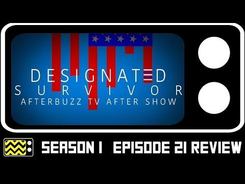 Designated Survivor Season 1 Episode 21  w/ Lamonica Garrett  AfterBuzz TV