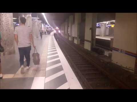 S-Bahn Station Frankfurt Hbf (Tief) während der Tunnelsperrung an Himmelfahrt 2018
