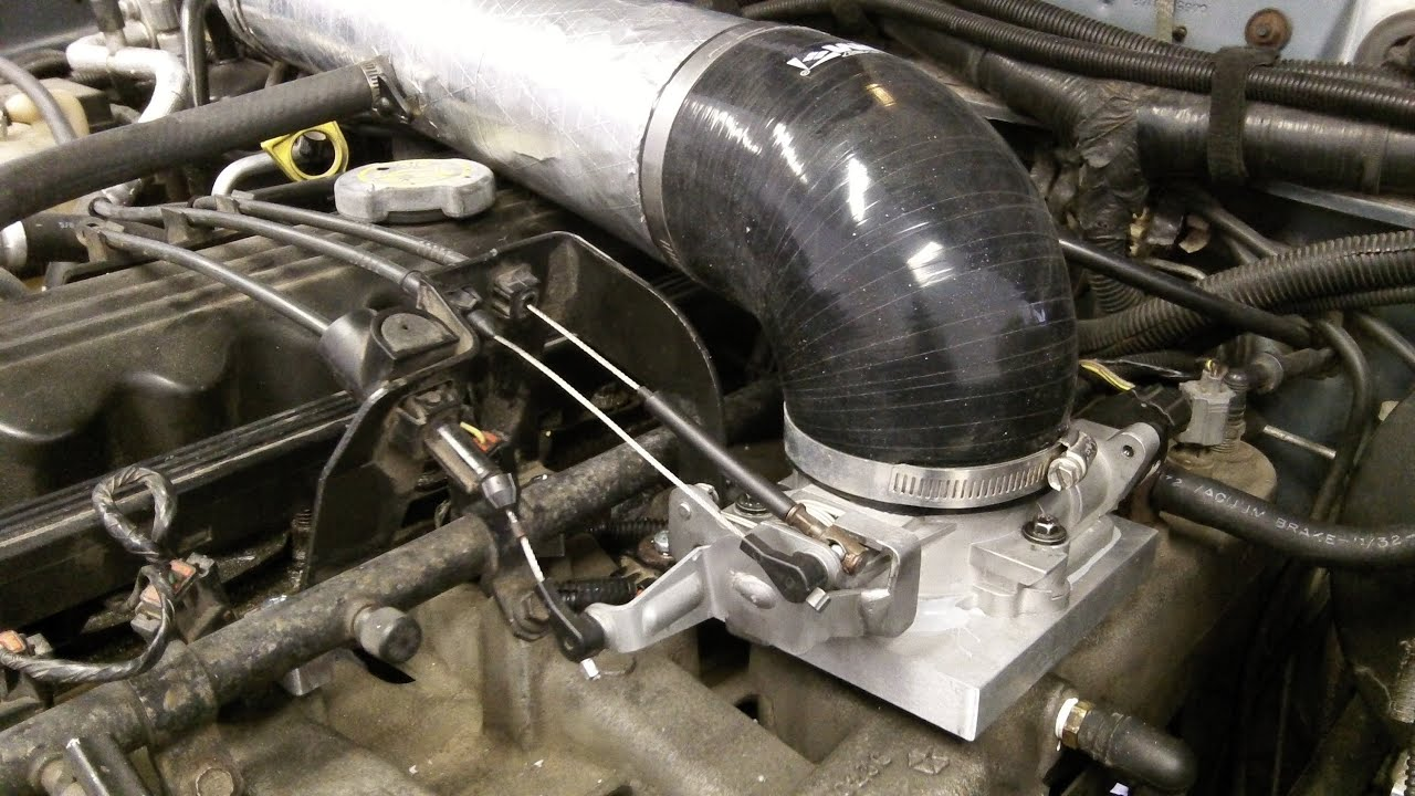 Installing A 68mm Throttle Body On A 4 0 Jeep Wrangler