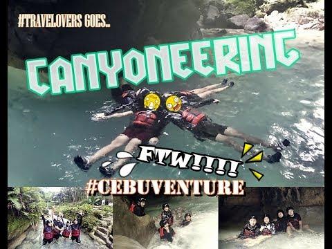 TRAVEL VLOG 1: CANYONEERING IN CEBU!!! (SUPER SAYA!!! :D)