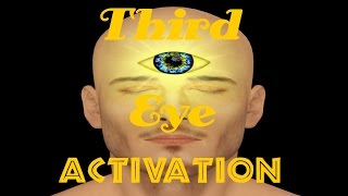 Meditation Music for 3rd Eye Activation, perception beyond ordinary sight