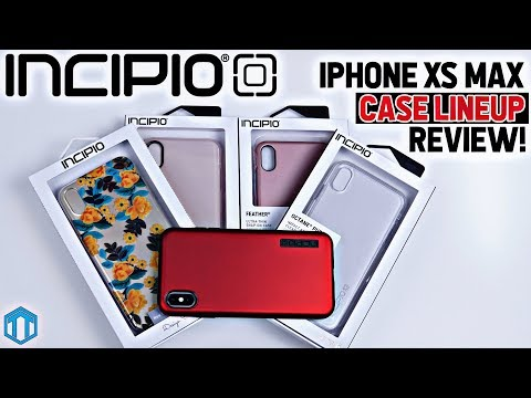 IPhone XS Max Incipio Case Lineup Review!