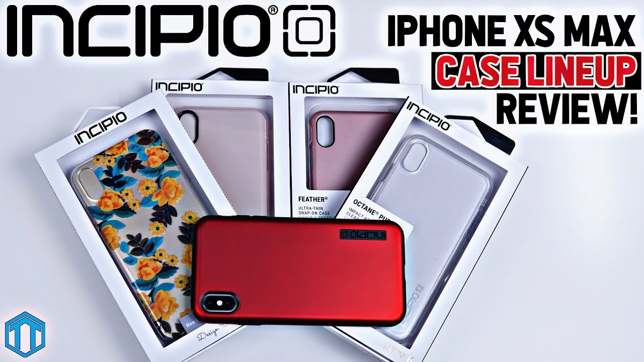 best loved 632c3 b5ff5 iPhone XS Max Incipio Case Lineup Review!