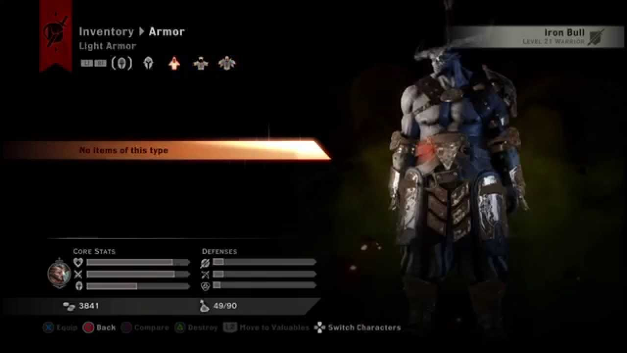 Two Hand Warrior Build Dragon Age