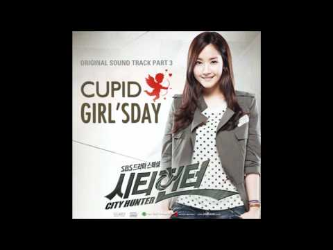 Girl's Day [걸스데이] - Cupid [City Hunter OST] with lyrics