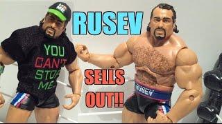 WWE ACTION INSIDER: Rusev Elite Series 34 Mattel Wrestling Action Figure Review!