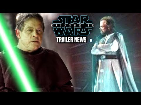 Star Wars Episode 9 Teaser Trailer Bad News Of Luke Skywalker! (Star Wars News)
