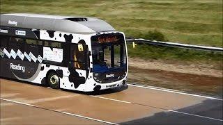 Самый быстрый автобус в мире - Bus Hound(На испытательном полигоне в британском графстве Бедфордшир автобус работающий на навозе разогнался до..., 2015-06-10T13:54:28.000Z)