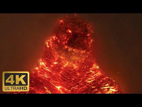 Годзилла убивает Королеву Гидору. Годзилла 2: Король монстров (4K)