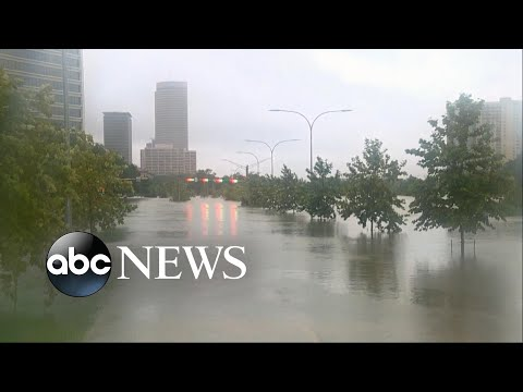 Greater Houston remains paralyzed as Harvey rages