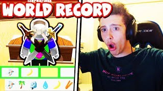 RECORD DU MONDE BREAKING TIME! (Roblox Youtuber Survivor 2)