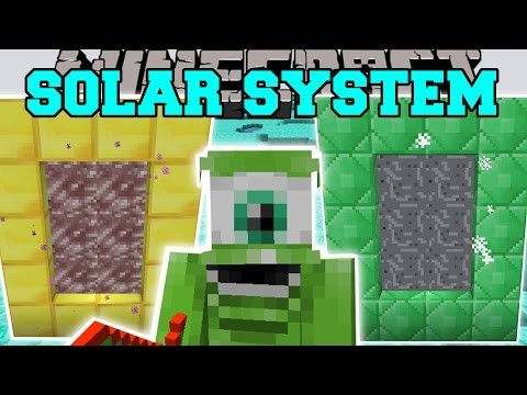 Minecraft: SOLAR SYSTEM MOD (TRAVEL TO ANY PLANET!) Mod Showcase