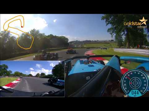 Caterham 310R 2018   Brands Race 2 Highlights   David Bevan