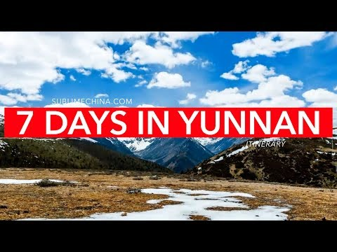 7 Days in Beautiful Yunnan | Yunnan Itinerary & Tour Suggestion