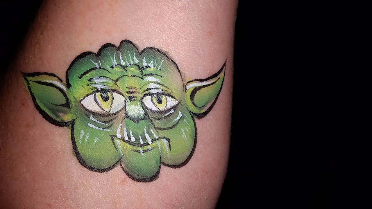 Star Wars Face Painting Images
