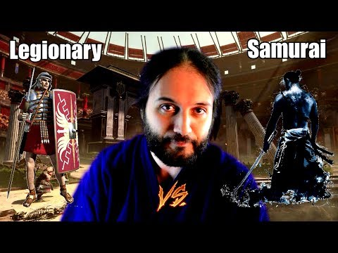 Roman Legionary VS Samurai
