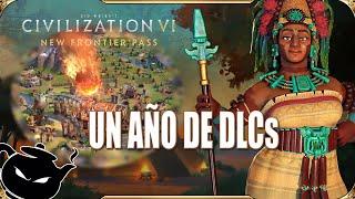 UN AÑO DE CIVI Y ANÁLISIS DE LOS MAYAS • CIVILIZATION 6: FRONTIER PASS • 6 DLC NUEVOS • ESPAÑOL