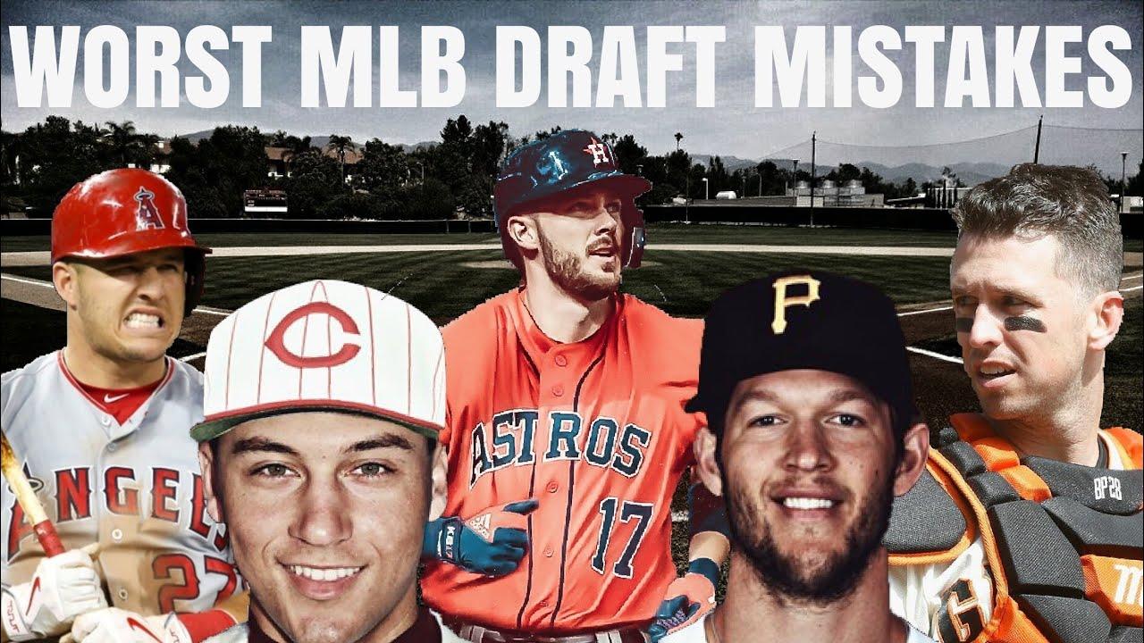 Every MLB Team's WORST Draft Mistake