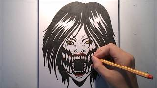 How To Draw MILEENA - Mortal Kombat X