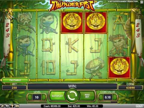 Thunderfist slot machine casino gratis game online