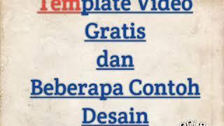 Template Video Gratis & Contoh Desain