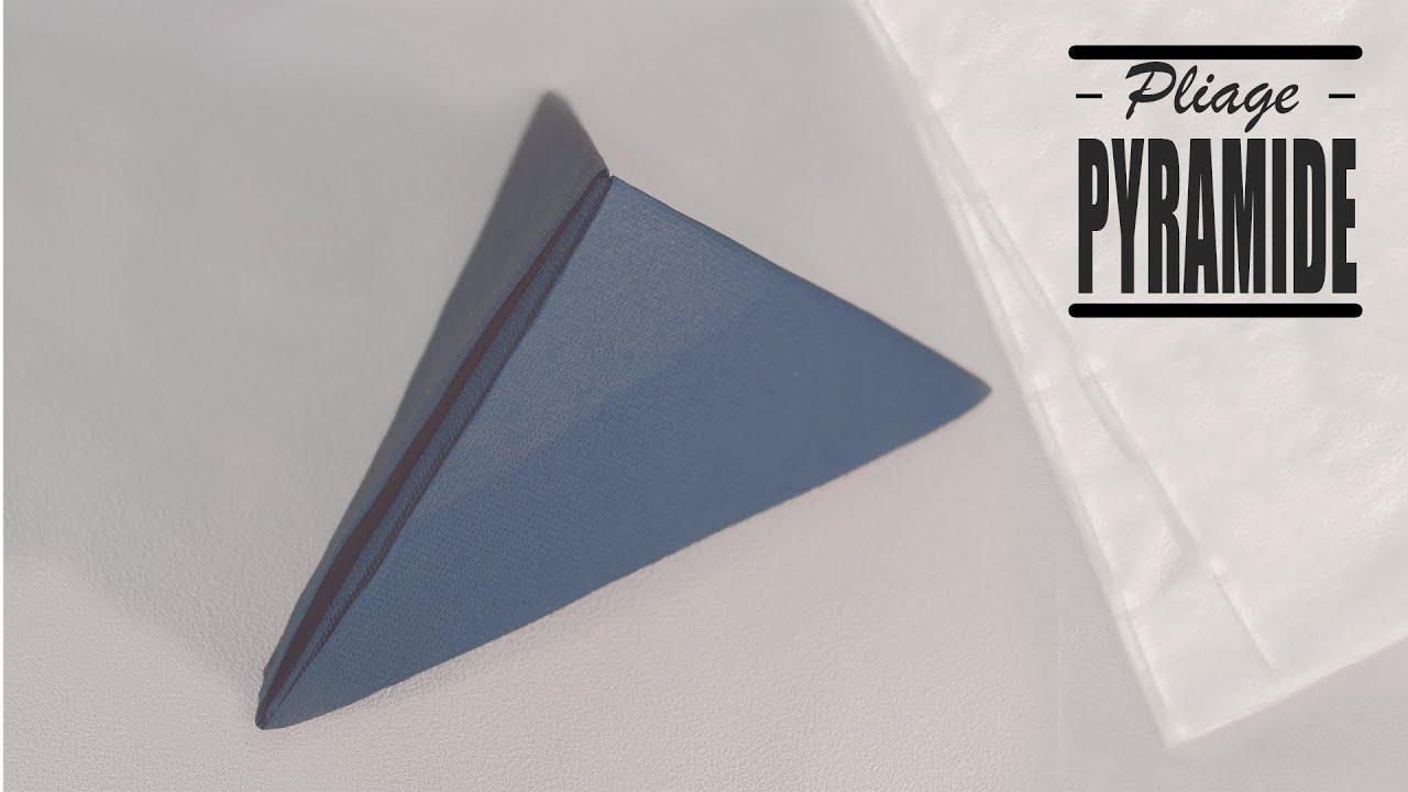 Pliage Serviette Papier Avec Couverts pliage de serviette noel: moderne pyramide