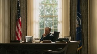 President Underwood appears during GOP debate