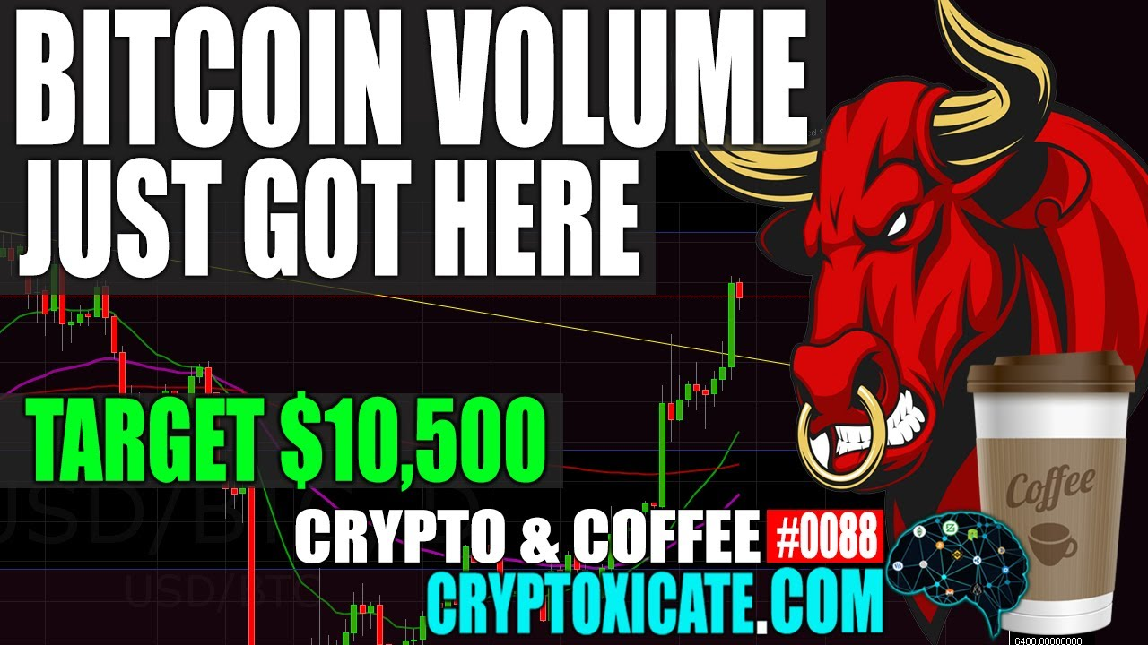 BITCOIN VOLUME IS HERE – CRYPTO & COFFEE #0088