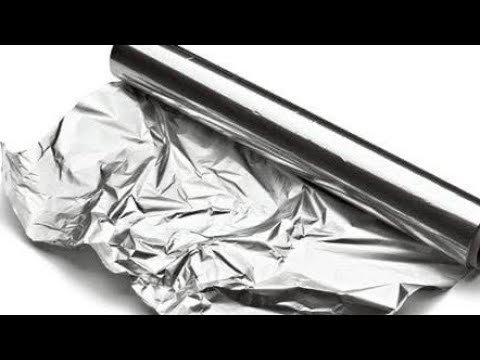 Uses of aluminium foil in our daily life...must watch