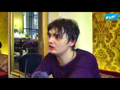 PETER DOHERTY INTERVIEW IN BRUSSELS on PURE