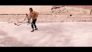 Ice Hockey In Hunza  Altit Frozen Swimming Pool