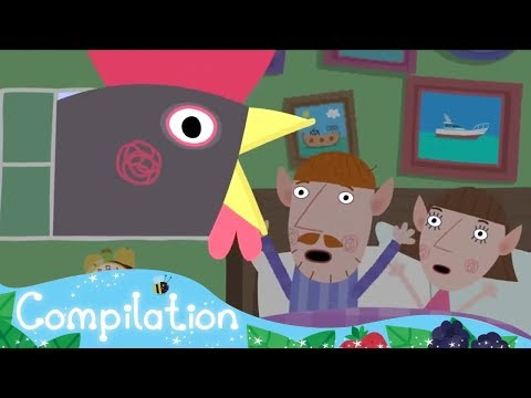Ben and Holly's Little Kingdom - Chicken - Compilation - HD Cartoons for Kids