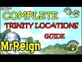 Kingdom Hearts 1.5 HD - Final Mix - Complete TRINITY LOCATIONS Guide - BEST FRIENDS - Trophy