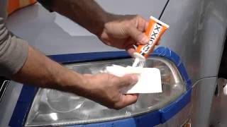 How To Restore Your Headlights With The Quixx Headlight Lens Restorer & Sealer