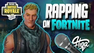 FREESTYLE RAPPING ON FORTNITE !