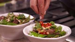 Green Curry Lamb Stir-Fry - Annabel Langbein