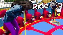 Making Amusement Park Visitors Puke - RideOp Thrill Ride Simulator Gameplay