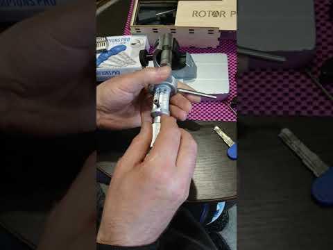Взлом отмычками MOTTURA PRO   Locksmith tools for Mottura PRO